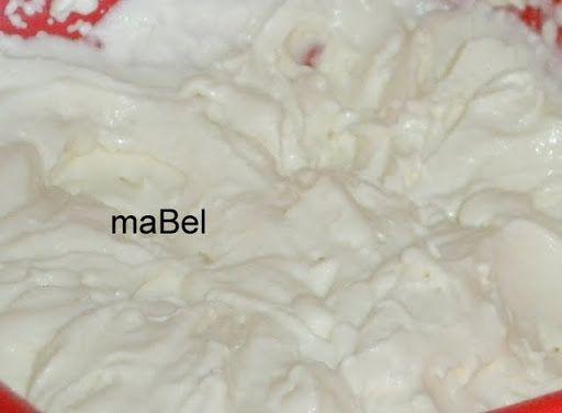 Crema de leche o nata casera para cocinar ~ Pasteles de colores
