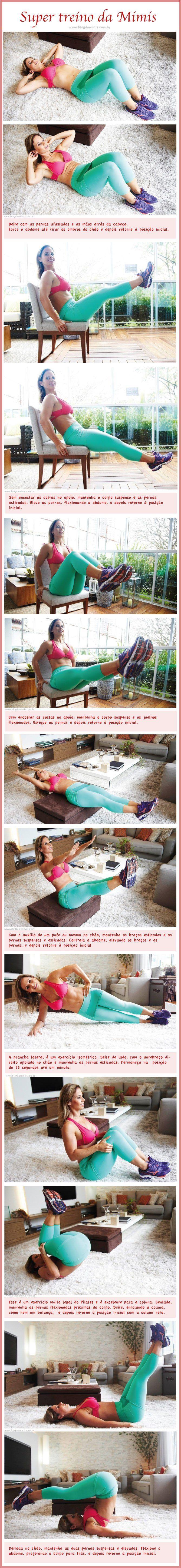 Super treino abdominal: faça em qualquer lugar