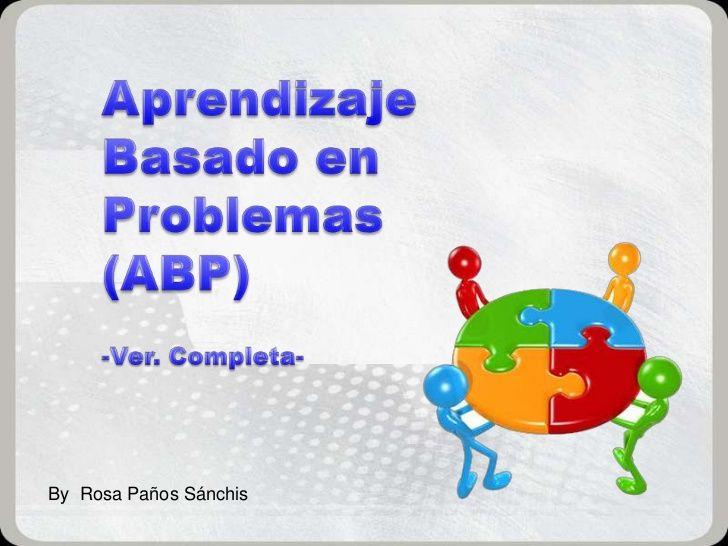Una magnífica serie de 79 diapositivas que describen y definen el ABP, los elementos básicos (problema, tutor, alumno, grupo, evaluación), sus limitaciones y sus ventajas. También incluye 3 ejemplos prácticos.