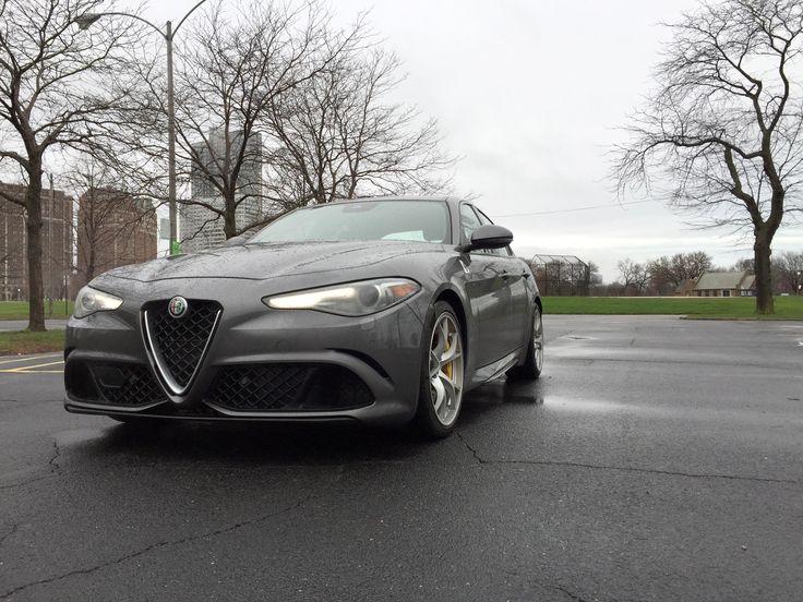 2017 Alfa Romeo Giulia (Sinclair Broadcast Group / Jill Ciminillo)