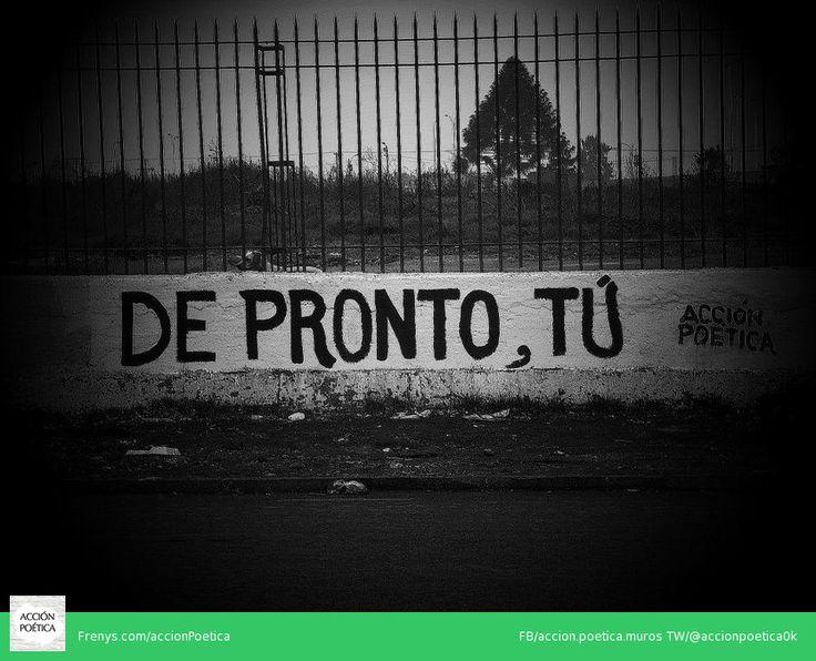 Acción poética #muros #poesía #arte público #paredes #calle #rima #street art #poética #acción #acción poética #amor