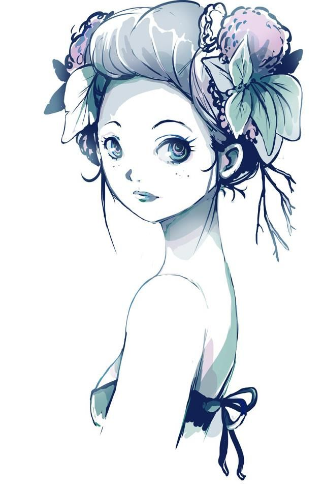 Design Your Anime Character : Best images about manga studio color illustrations