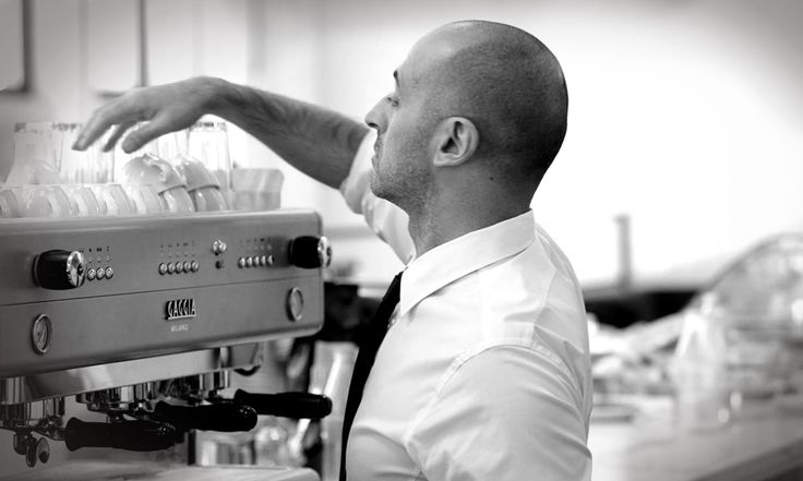 #Gaggia #Coffee Machine being put to use by an expert.