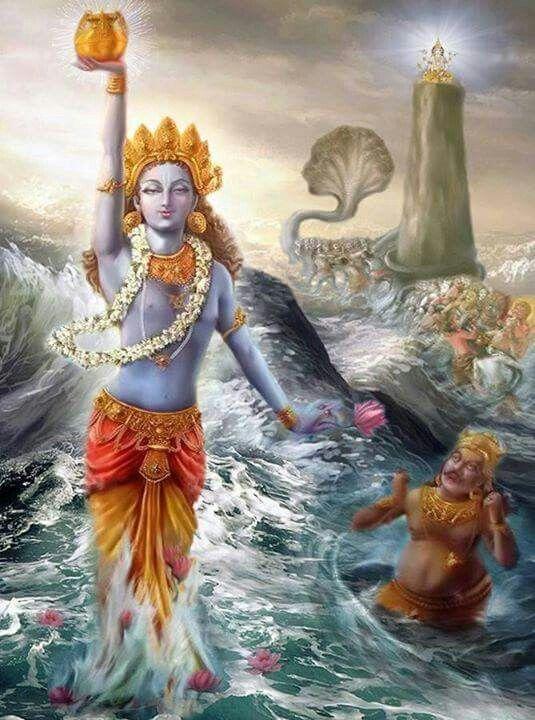 Lord Dhanvantari- Avatar of Lord Vishnu
