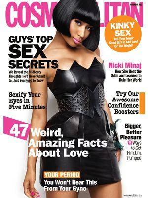 Cosmopolitan November 2011 #NickiMinaj