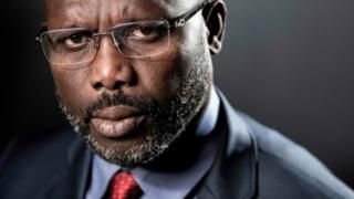 George Weah: Ex-footballer of the 12 months seeks presidential job