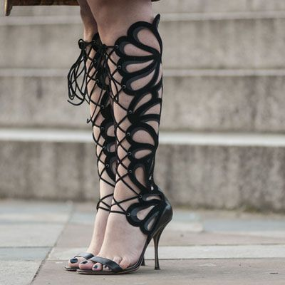 Day 5 Street Style at London Fashion Week