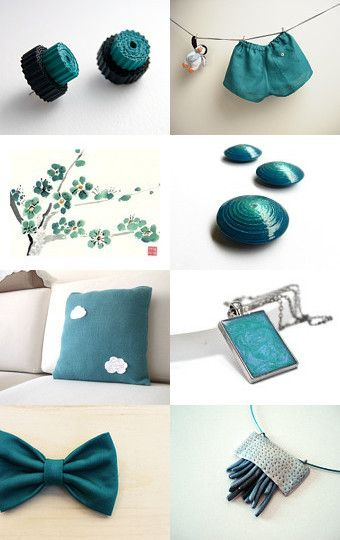 Would you like some teal? by Francesca Vicario on Etsy--Pinned with TreasuryPin.com