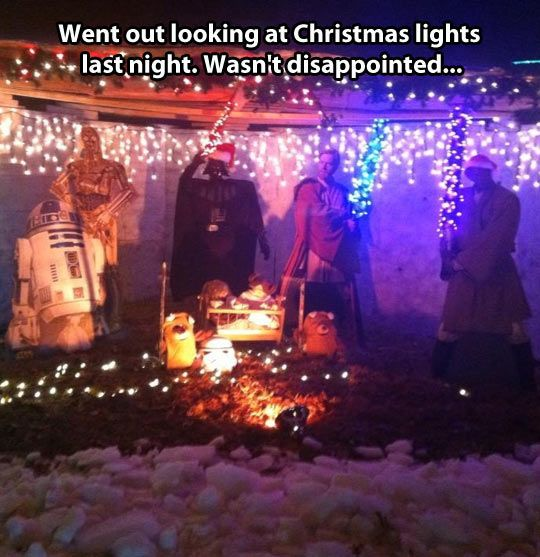 A very dark Christmas // funny pictures - funny photos - funny images - funny pics - funny quotes - #lol #humor #funnypictures
