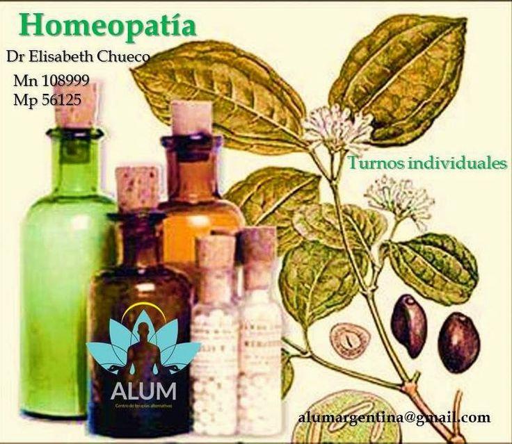 ALUM - Centro de Terapias Alternativas.: HOMEOPATÍA  MEDICINA NATURAL.  Turno individuales ...