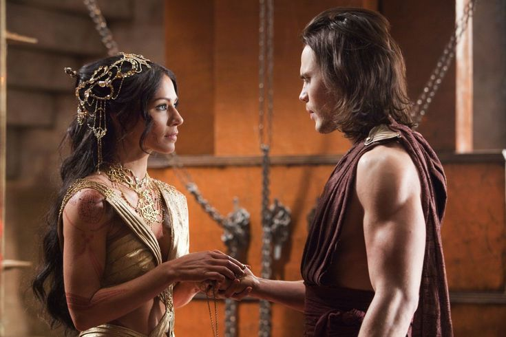John Carter & Dejah Thoris