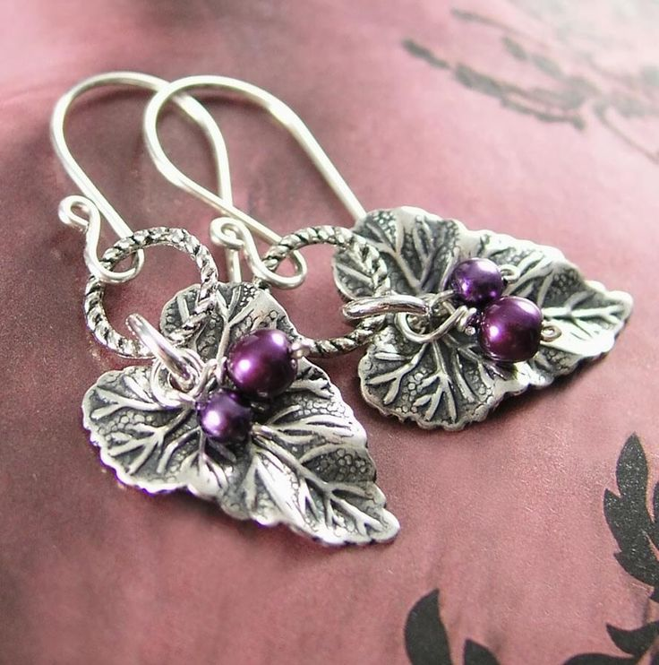 84 best I collect grape earrings images on Pinterest ...