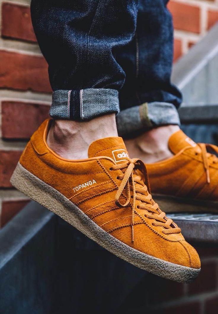 Rough on the outside, smooth on the inside. Adidas Topanga Tobacco