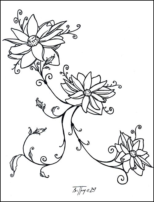 Lotus blossom tattoo for Emily by ~uninspired--poet on deviantART
