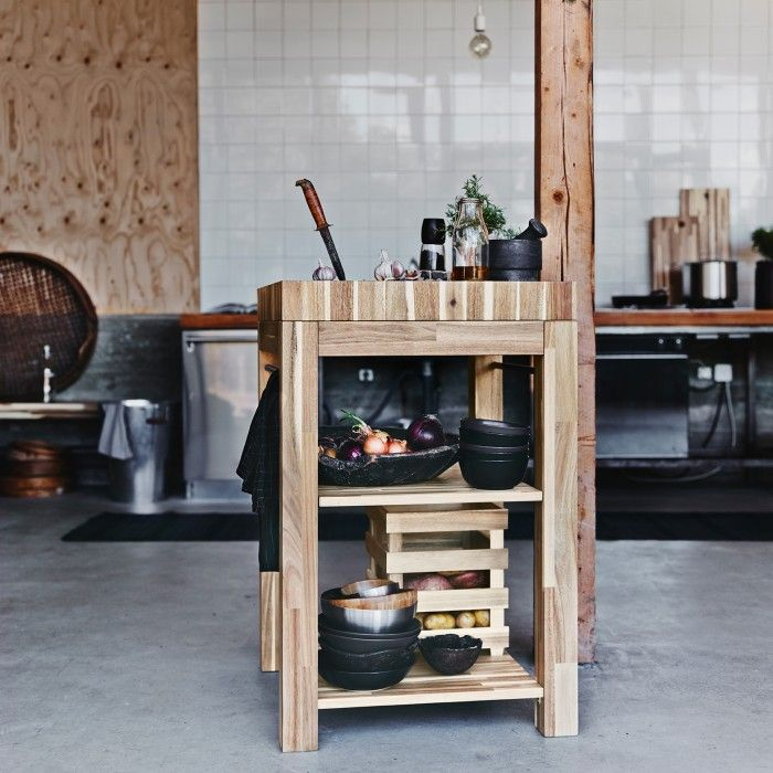 Skogsta Solid Wood Collection from Ikea
