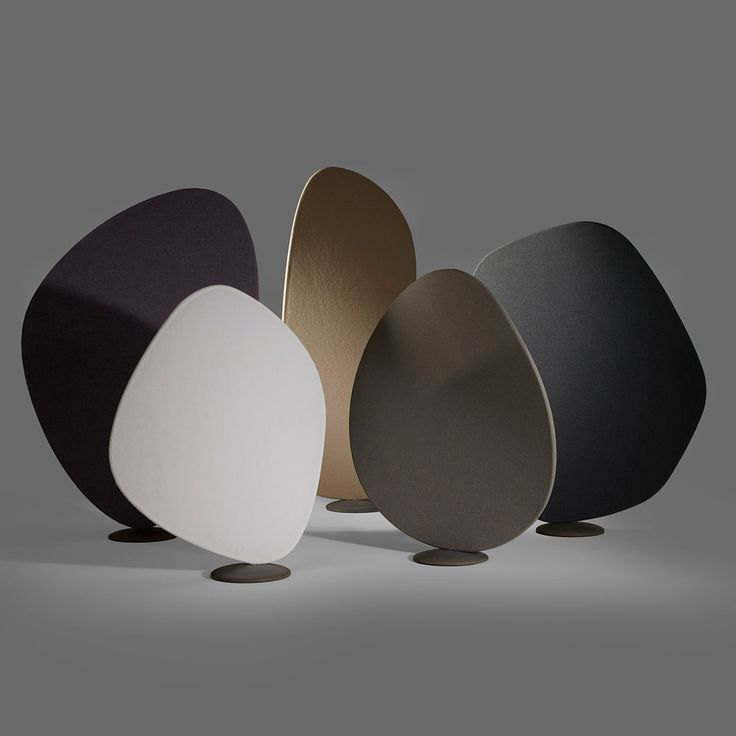 """Jin Kuramoto designs petal-shaped Wind room dividers for """"acoustically chaotic"""" spaces"""