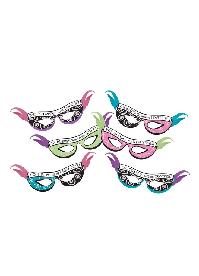 PartiPaketi Yılbaşı maskeleri parti paketi, 6 kişilik Markafoni'de 36,00 TL yerine 24,99 TL! Satın almak için: http://www.markafoni.com/product/3173463/