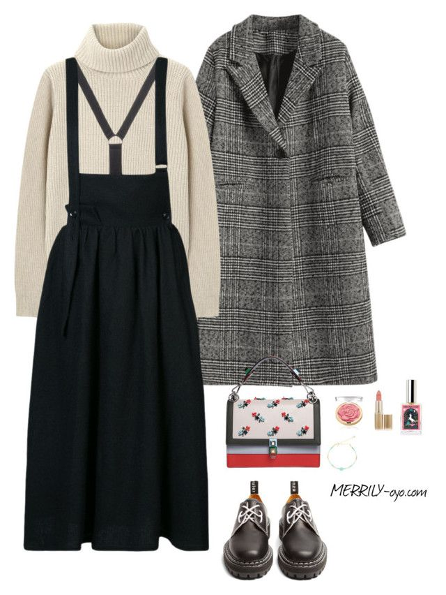 fashion by yumiko-merrily on Polyvore featuring ファッション, Proenza Schouler, Y's by Yohji Yamamoto, Fendi, L'Oréal Paris and OSCAR Bijoux