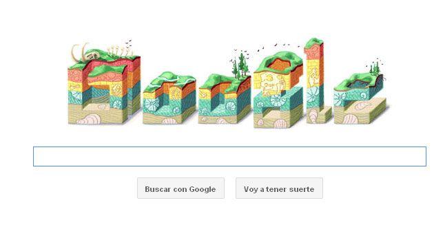 nice doodle celebrating Nicolas Steno.