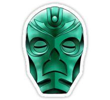 traditional dragon priest mask Sticker