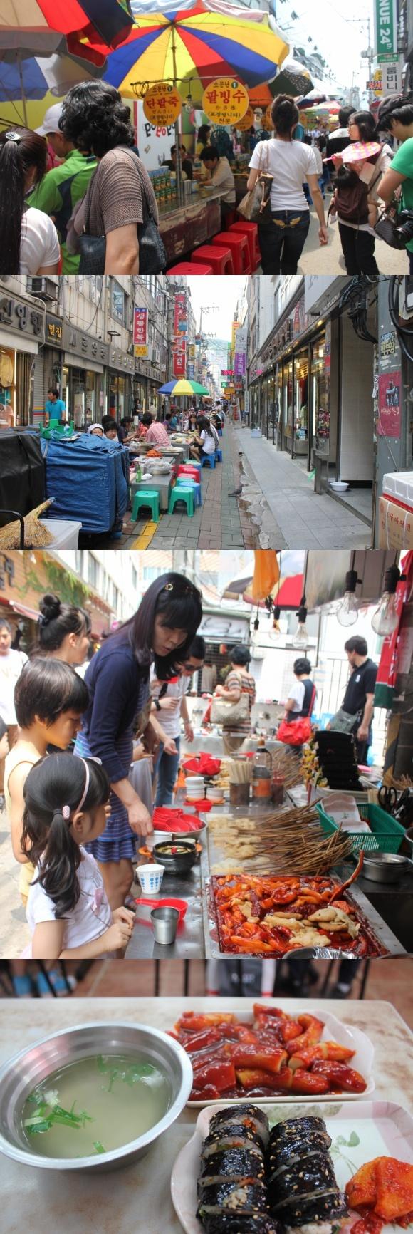 international market busan city
