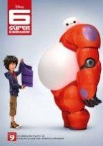 6 Süper Kahraman / Big Hero 6 Türkçe Dublaj izle
