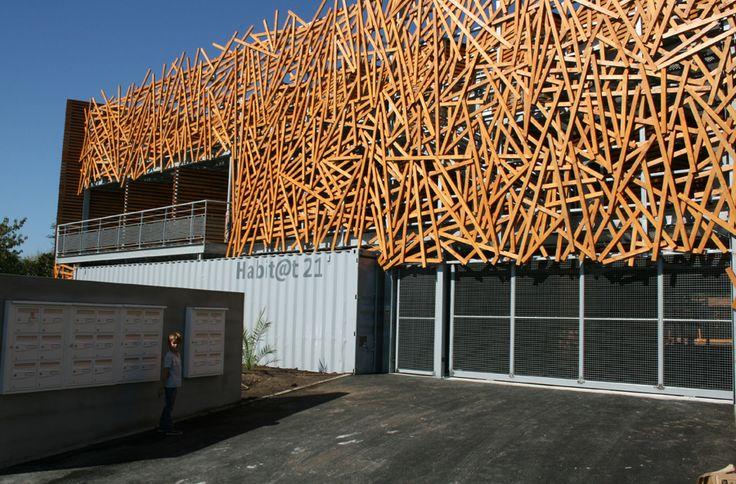 Kiha conception des logements conteneurs design for Architecture parametrique