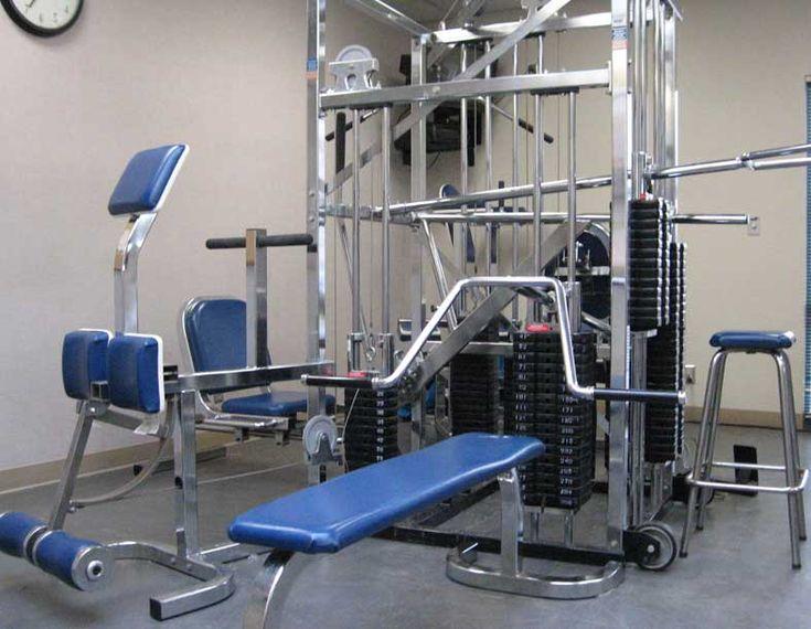 universal fitness machine