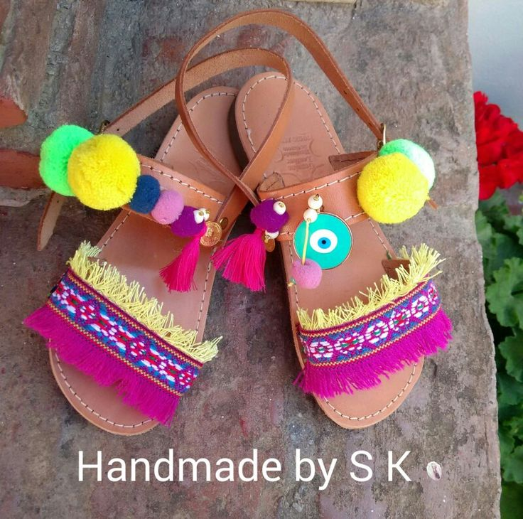 #boho #kids #sandal #handmade by SK.