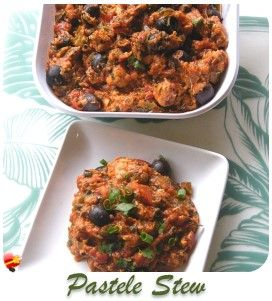 A tasty gandule rice local style recipe. Use chopped pork to make it a hearty lunch or dinner. Enjoy!