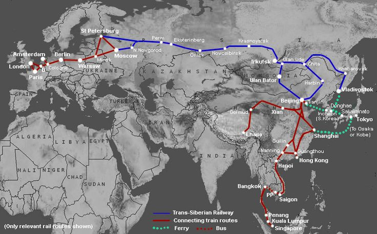 Trans-Siberian Railway Saint Petersburg to Beijing is a must lifetime experience.
