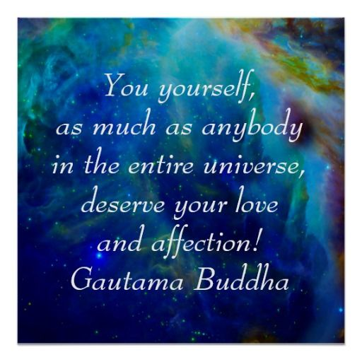 Buddha on loving yourself