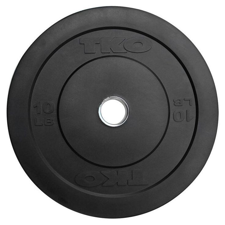 TKO Bumper Plate - 802BP-10