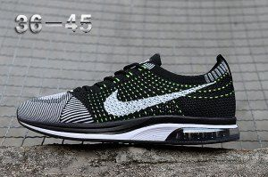 c3e1d306a2f8 Mens Womens Nike Air Zoom Mariah Flyknit Racer Grey Green White Black  Running Shoes Nike Flyknit