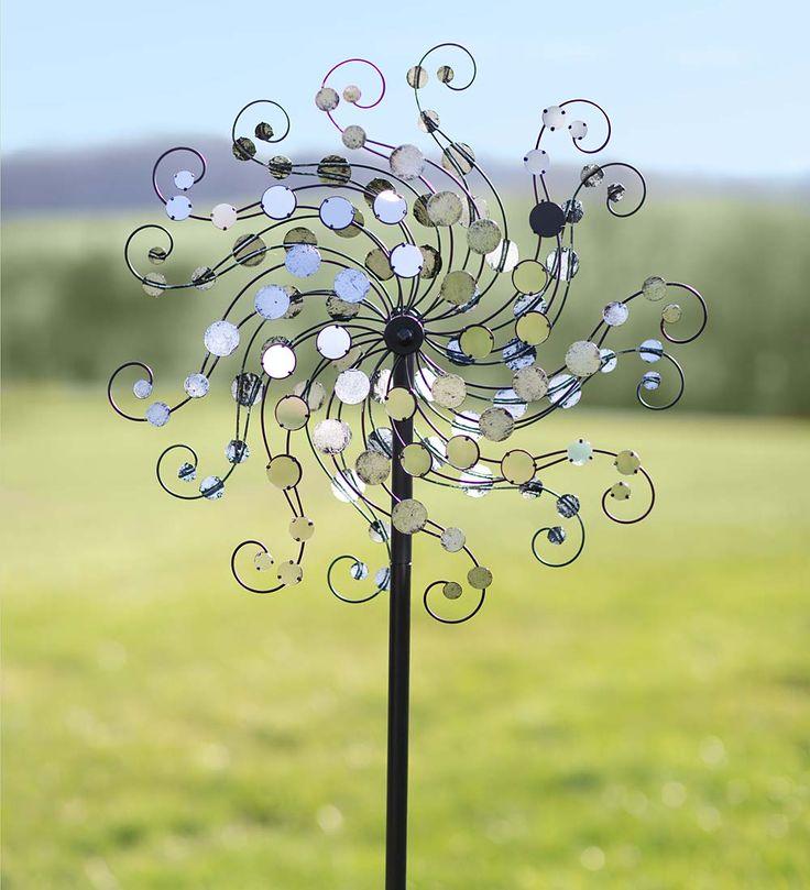 Mirror-Disc Sparkling Octopus Wind Spinner | Wind