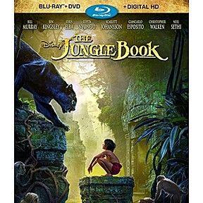 DISNEY.....THE JUNGLE BOOK- BLU_RAY+DVD+DIGITAL HD by jam on it on Opensky