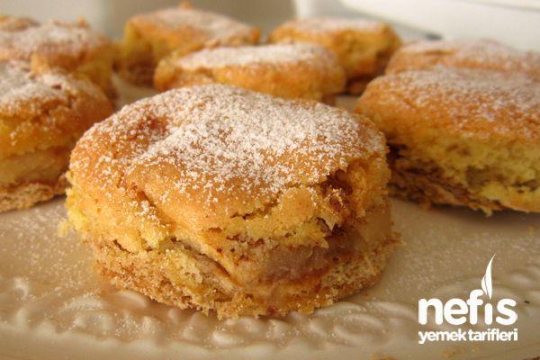 Bisküvili Elmalı Pasta