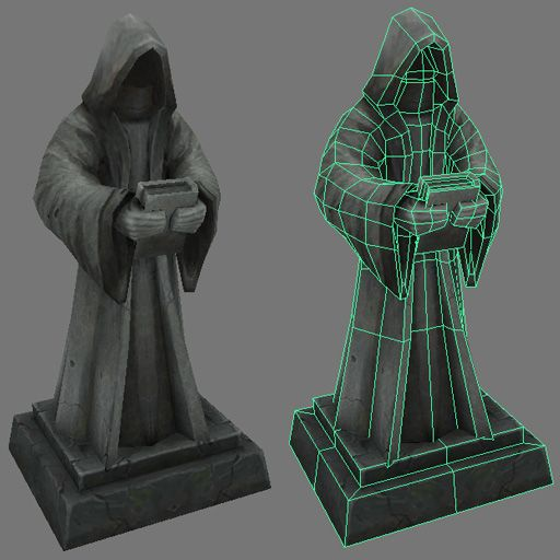 Statue asset. by Jimpaw on deviantART