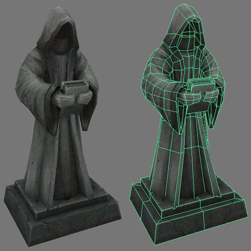 Statue asset. by Jimpaw.deviantart.com on @deviantART
