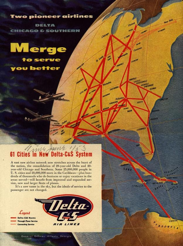 Two Pioneer Airlines Delta Chicago Southern Merge To Serve You Better