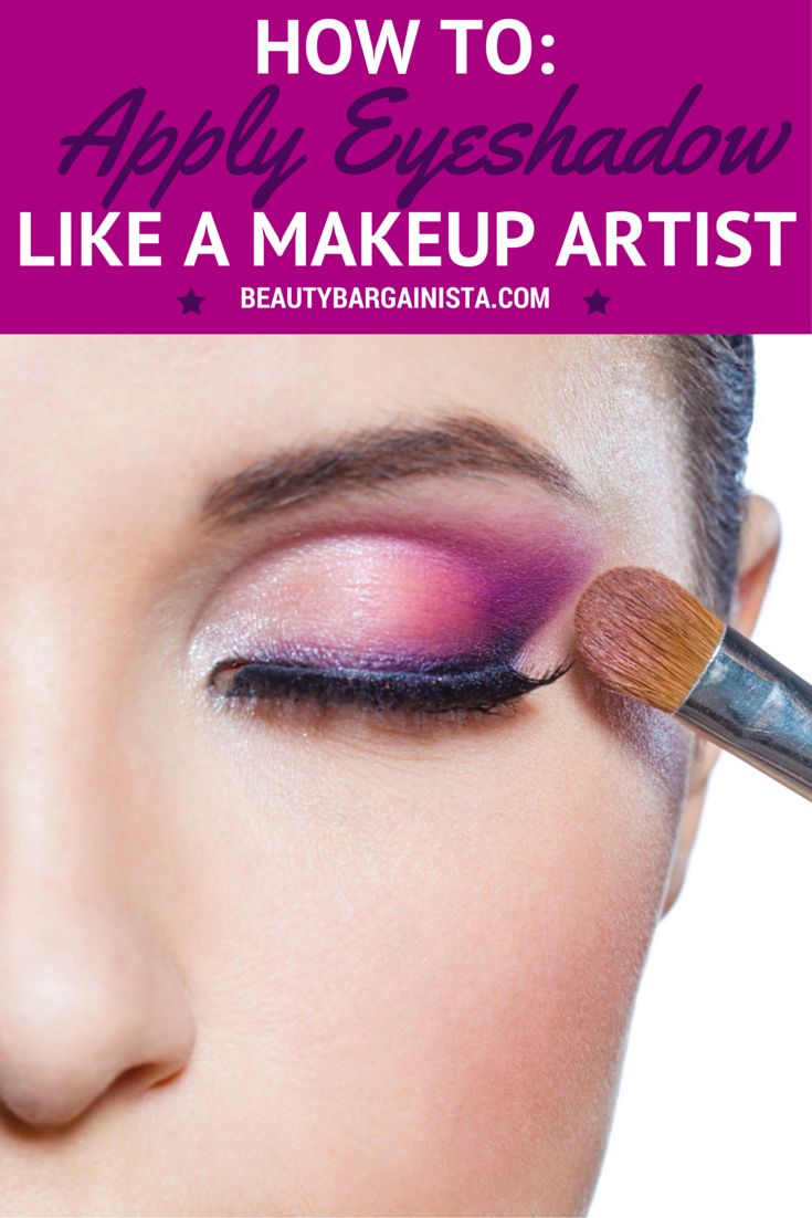 17 Best Ideas About How To Apply Eyeshadow On Pinterest