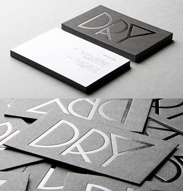 40 Brilliant Business card design examples for your inspiration. Follow us www.pinterest.com/webneel