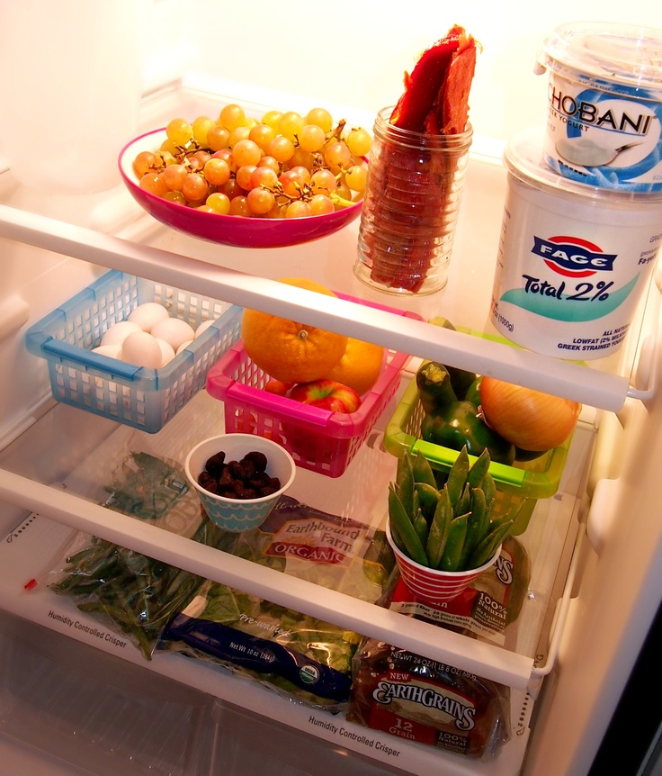 17 Best images about My Dream Refrigerator on Pinterest ... Organized Refrigerator Healthy