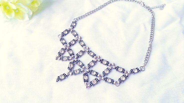 DIY Statement Necklace   #diy #jewelry #statementnecklace #necklace