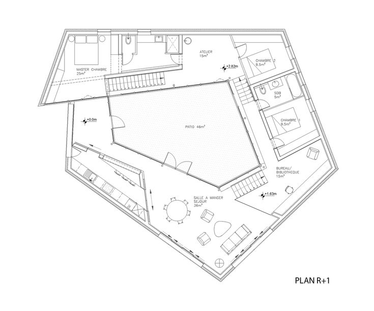 22 best plan images on Pinterest Floor plans, Architecture drawing