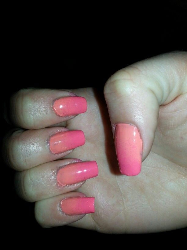 Barry M Ombre Nails!