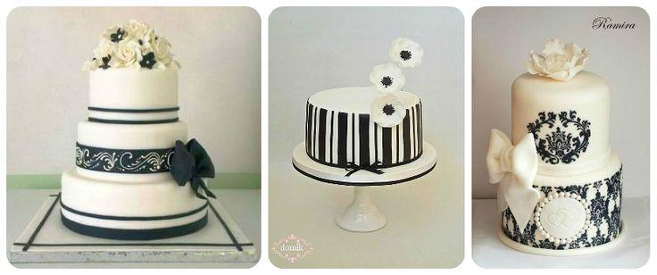 Čierno biela klasika očarí v móde ale aj na slávnostnom stole. Nielen svadba je skvelou priležitosťou staviť pri výbere torty na efektnú klasiku. Inšpirujte sa krásnymi tortami v čiernobielom prevedení z dielne našich cukrárok.