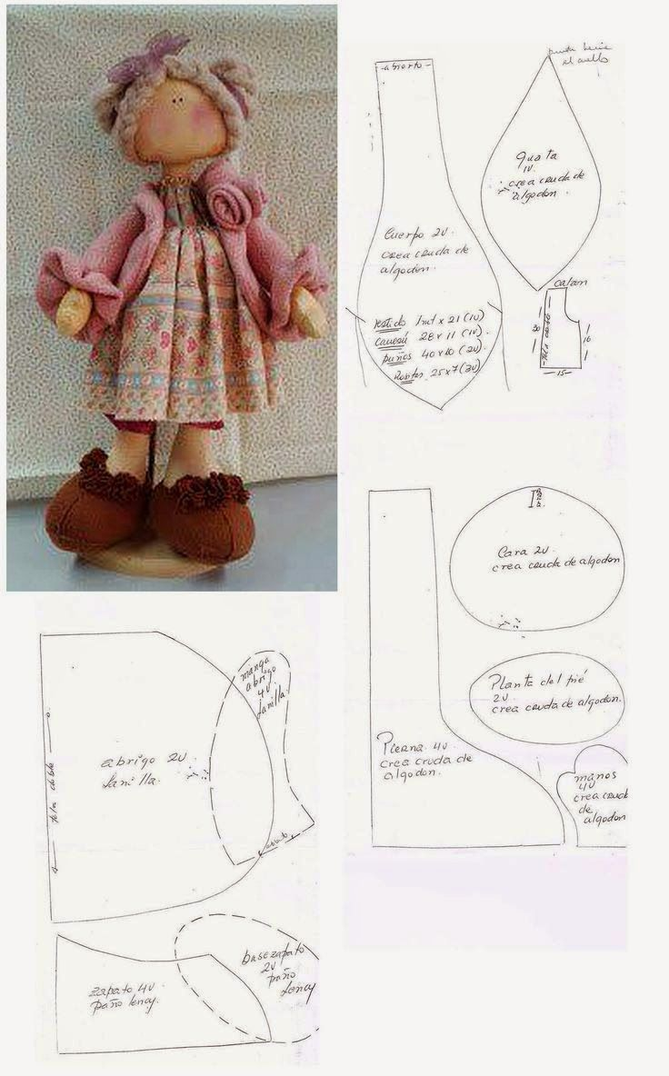 Tutoriales y DIYs: Muñeca de trapo