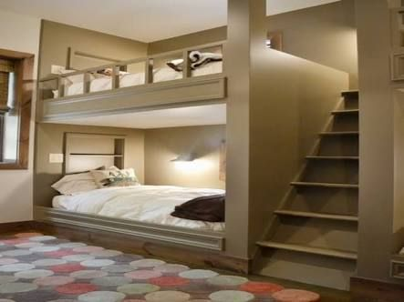 Modern Bunk Beds For Teenagers