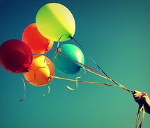 Colors: Happy Birthday, Birthday Balloon, Childhood Memories,  Rose Hip, Rainbows, Happy Colors, Inspiration Pictures,  Rosehip, 25Th Birthday